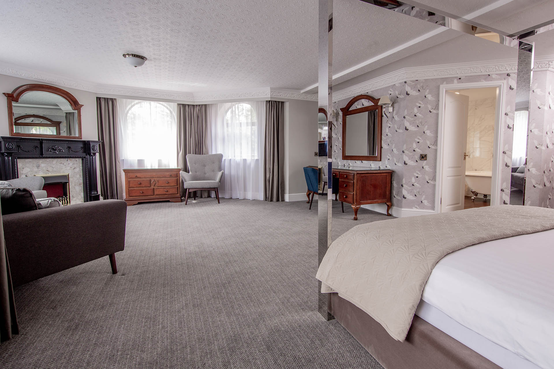 bredbury hall hotel stockport superior king suite