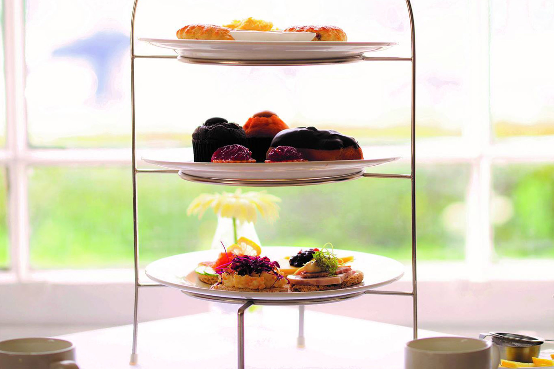 Afternoon Tea Package wedding at Bredbury Hall Hotel Stockport Cheshire